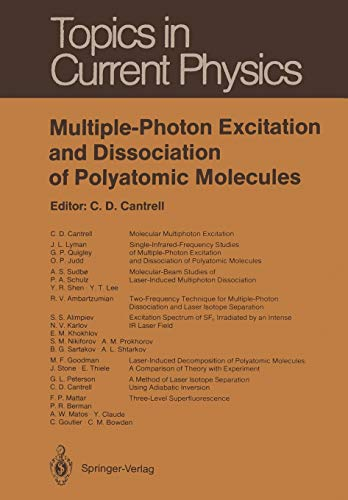 Multiple-Photon Excitation and Dissociation of Polyatomic Molecules