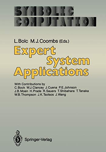 Expert System Applications: Bolc, Leonard (EDT)/