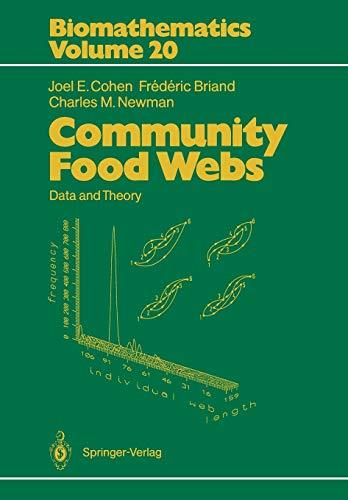 9783642837869: Community Food Webs: Data and Theory (Biomathematics)