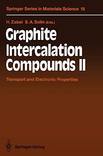 9783642844812: Graphite Intercalation Compounds II: Transport and Electronic Properties (Springer Series in Materials Science)