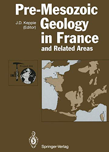 9783642849176: Pre-Mesozoic Geology in France and Related Areas (IGCP-Project 233)
