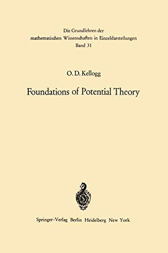 9783642867507: Foundations of Potential Theory (Grundlehren der mathematischen Wissenschaften)