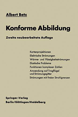 9783642872181: Konforme Abbildung (German Edition)