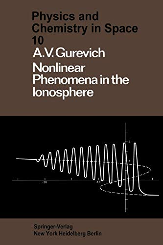 9783642876516: Nonlinear Phenomena in the Ionosphere (Physics and Chemistry in Space)