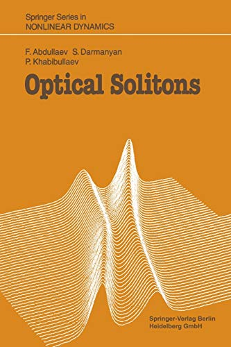 9783642877186: Optical Solitons (Springer Series in Nonlinear Dynamics)