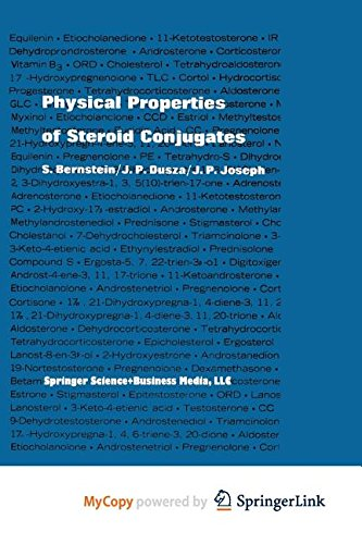 9783642878299: Physical Properties of Steroid Conjugates