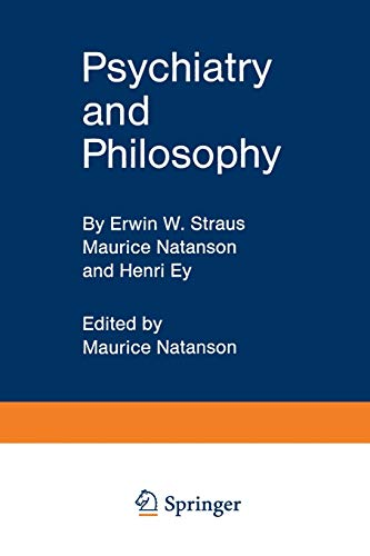 9783642879869: Psychiatry and Philosophy