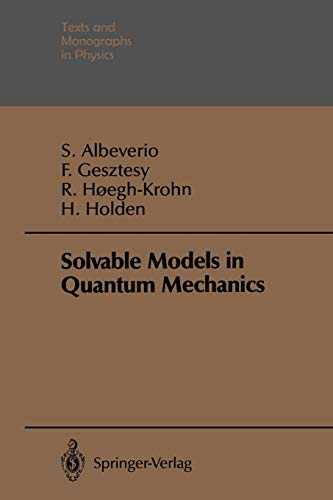 9783642882036: Solvable Models in Quantum Mechanics (Theoretical and Mathematical Physics)