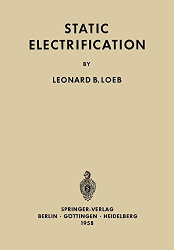 9783642882456: Static Electrification