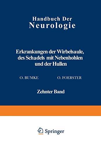 Erkrankungen Der Wirbelsaule Des Schadels Mit Nebenhohlen Und Der Hullen: M. Lange