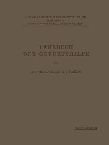 9783642889134: Lehrbuch der Geburtshilfe (M. Runges Lehrbücher der Geburtshilfe und Gynäkologie) (German Edition)