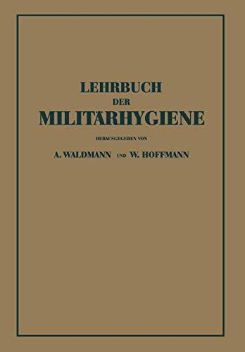 9783642893322: Lehrbuch der Militärhygiene (German Edition)