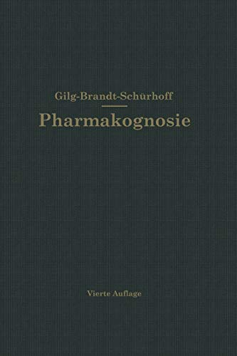 9783642894480: Lehrbuch der Pharmakognosie