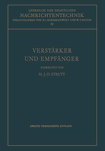 Lehrbuch der Drahtlosen Nachrichtentechnik: Maximilian J. O. Strutt