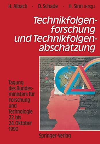 Technikfolgenforschung und Technikfolgenabschätzung: Albach, Horst