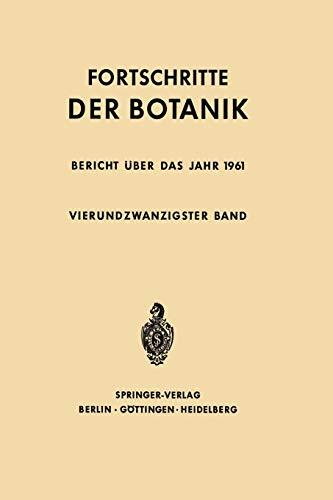 9783642948459: Fortschritte der Botanik (Progress in Botany)