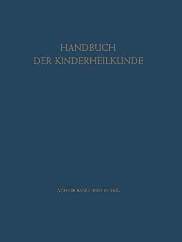 9783642951008: Neurologie Psychologie - Psychiatrie (Handbuch der Kinderheilkunde) (German Edition)