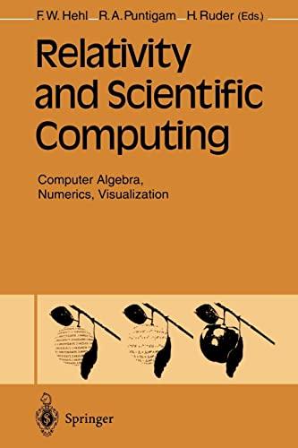 Relativity and Scientific Computing Computer Algebra, Numerics, Visualization