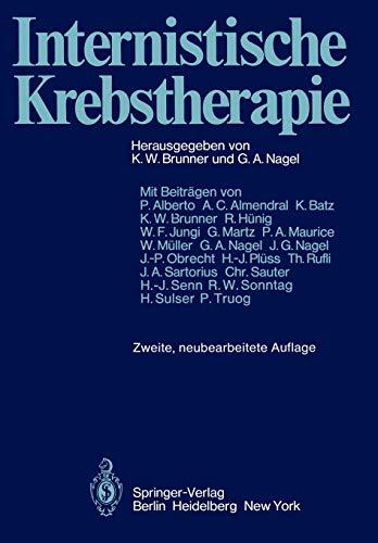 9783642965036: Internistische Krebstherapie
