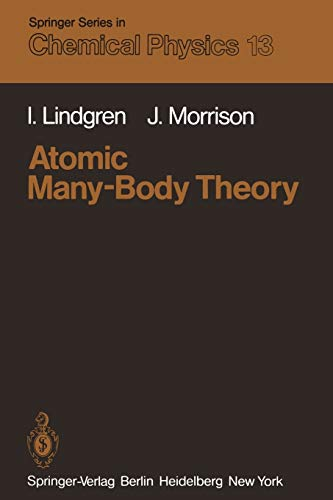 9783642966163: Atomic Many-Body Theory (Springer Series in Chemical Physics)