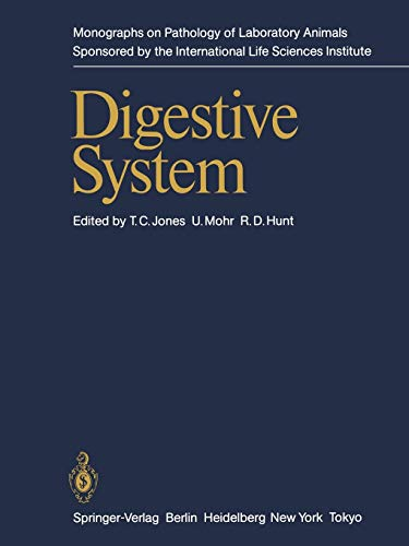 9783642969126: Digestive System (Monographs on Pathology of Laboratory Animals)