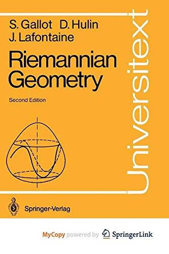 9783642972430: Riemannian Geometry
