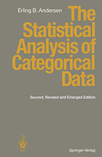 9783642973550: The Statistical Analysis of Categorical Data