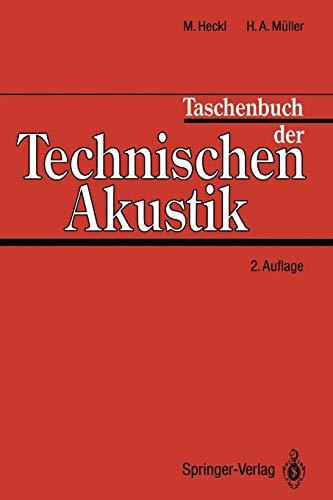 9783642973574: Taschenbuch der Technischen Akustik (German Edition)