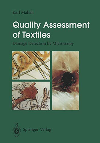 9783642975387: Quality Assessment of Textiles: Damage Detection by Microscopy