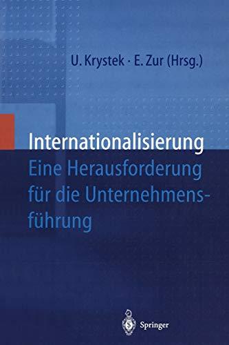 9783642979583: Internationalisierung: Eine Herausforderung für die Unternehmensführung (German Edition)