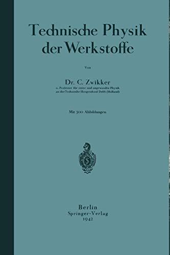 9783642981197: Technische Physik der Werkstoffe (German Edition)