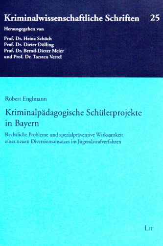 Kriminalpädagogische Schülerprojekte in Bayern: Robert Englmann