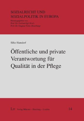 9783643103635: Öffentliche und private Verantwortung für Qualität in der Pflege