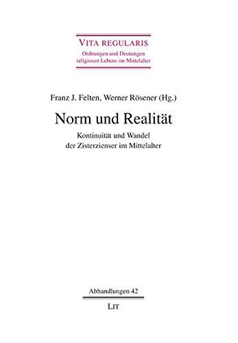 9783643104083: Norm und Realit�t: Kontinuit�t und Wandel der Zisterzienser im Mittelalter