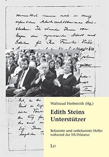 9783643107398: Edith Steins Unterstützer: Bekannte und unbekannte Helfer während der NS-Diktatur