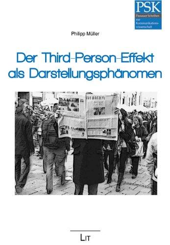 9783643109217: Der Third-Person-Effekt als Darstellungsph�nomen