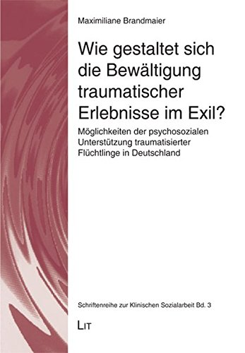 9783643111036: Wie gestaltet sich die Bew�ltigung traumatischer Erlebnisse im Exil?: M�glichkeiten der psychosozialen Unterst�tzung traumatisierter Fl�chtlinge in Deutschland
