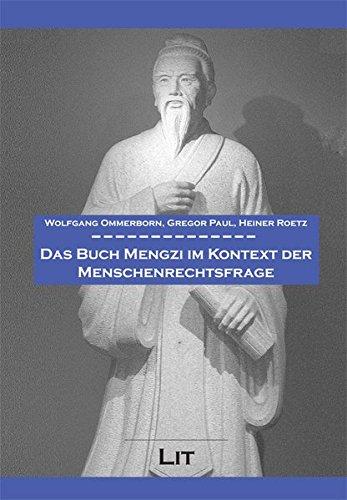 9783643111548: Das Buch Mengzi im Kontext der Menschenrechtsfrage