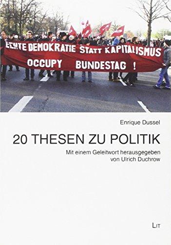 9783643122537: 20 Thesen zu Politik: Mit einem Geleitwort herausgegeben