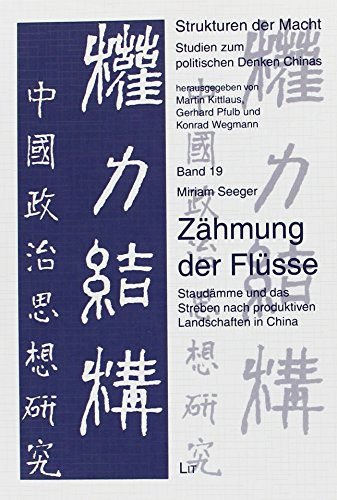 Zähmung der Flüsse: Lit Verlag