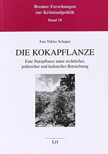 Die Kokapflanze: Jens Niklas Schaper