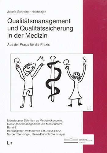 9783643126375: Qualit�tsmanagement und Qualit�tssicherung in der Medizin: Aus der Praxis f�r die Praxis