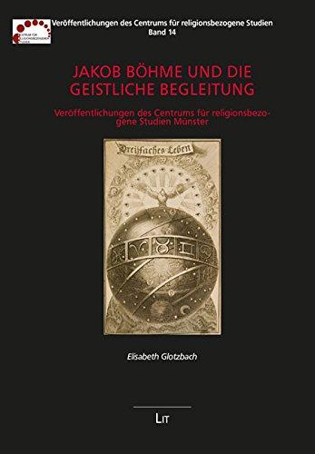 9783643127570: Jakob Böhme und die Geistliche Begleitung: Veröffentlichungen des Centrums für religionsbezogene Studien Münster