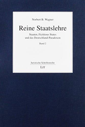 Reine Staatslehre: Norbert B. Wagner