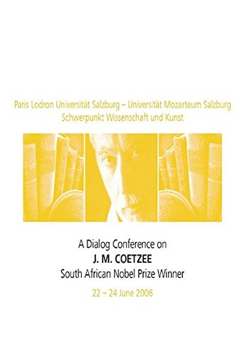 9783643500175: A Dialog Conference on J.M. Coetzee: South African Nobel Prize Winner (Anglistik / Amerikanistik)