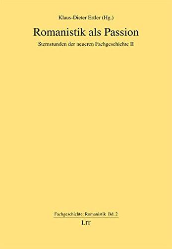 9783643502575: Romanistik als Passion