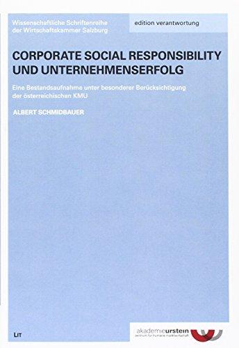 Corporate Social Responsibility und Unternehmenserfolg: Kurt Oberholzer