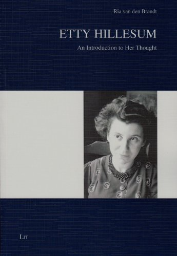 9783643904478: Etty Hillesum: An Introduction to Her Thought (Anpassung - Selbstbehauptung - Widerstand)