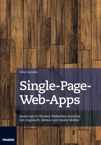 9783645603102: Single-Page-Web-Apps (German Edition)