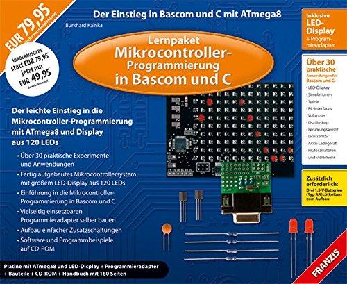 9783645651202: Lernpaket Mikrocontroller-Progammierung in Bascom und C